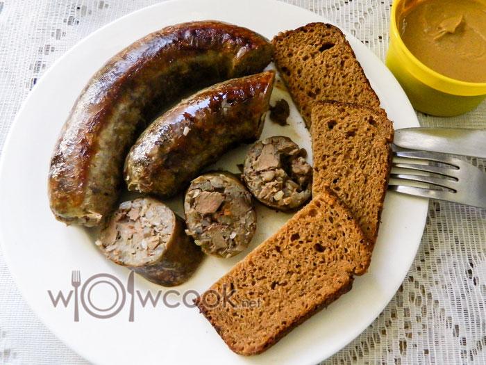 Колбаса печеночная в домашних условиях с гречкой