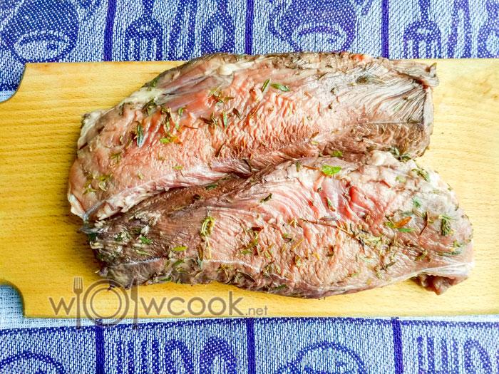 мясо в специях