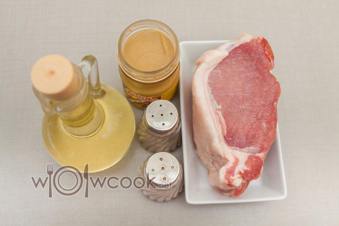 мясо в горчице ингредиенты