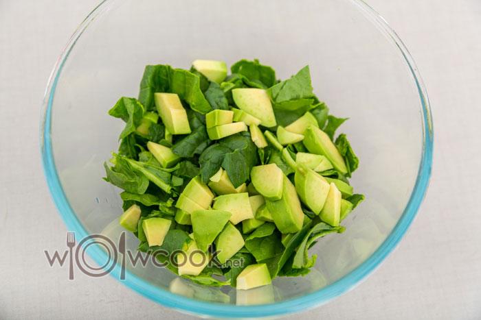 аовкадо в салат