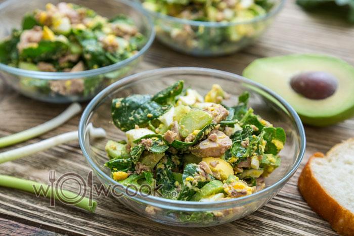 рецепт салата из печени трески консервированной