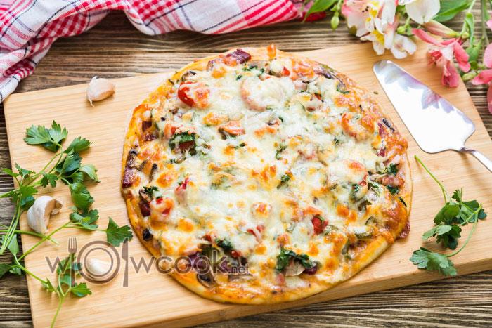 вкуснейшая домашняя пицца