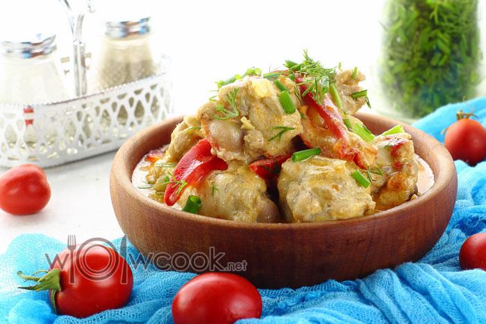 Паприкаш из курицы по-венгерски рецепт с фото