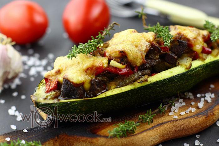 Лодочки из кабачков в духовке рецепт