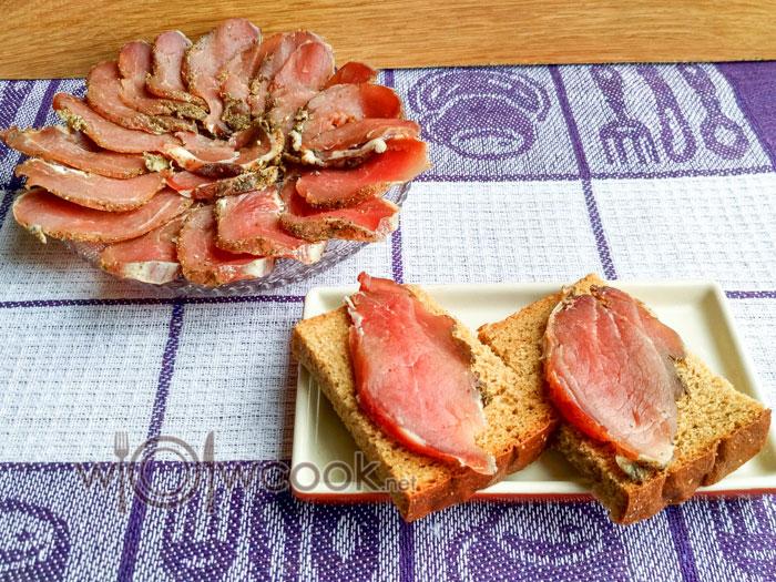 сыровяленый балык +из свинины в домашних условиях