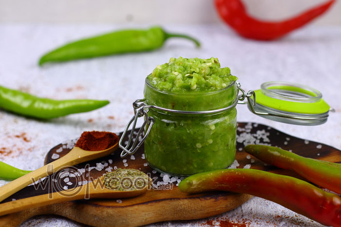 Зеленая аджика по-абхазски рецепт