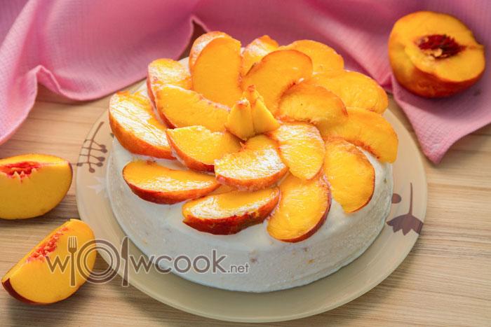 украшаем персиком