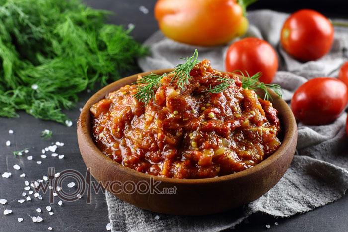 Как приготовить паштет из баклажанов, рецепт с фото пошагово