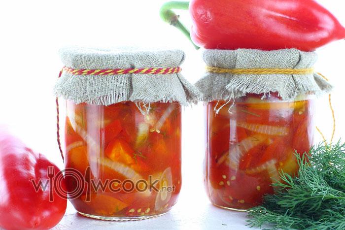 Рецепт донского салата в банках на зиму пошагово с фото