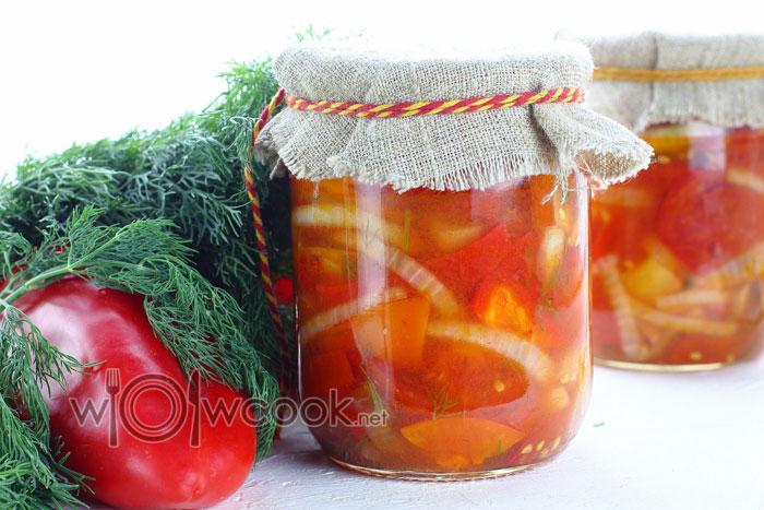 Донской салат, рецепт на зиму пошагово с фото
