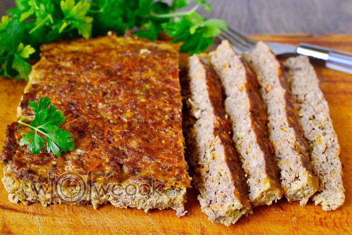 Мясной хлеб из индейки рецепт