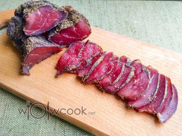 как приготовить вяленое мясо
