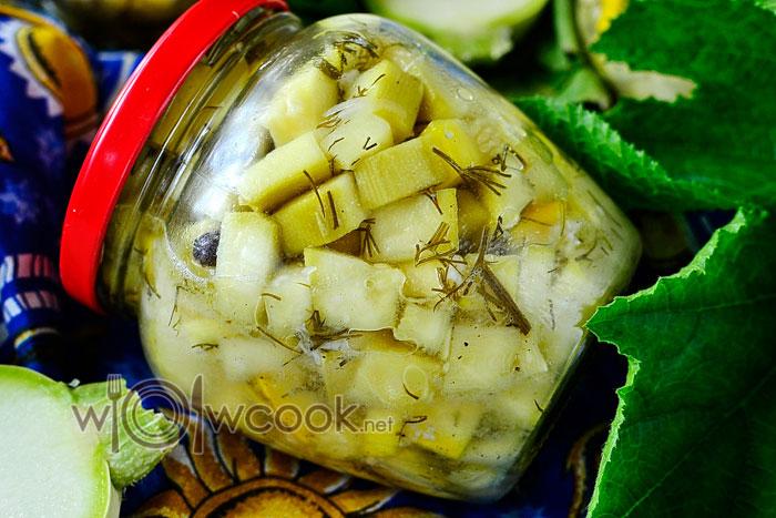 Рецепт кабачки как грибы на зиму