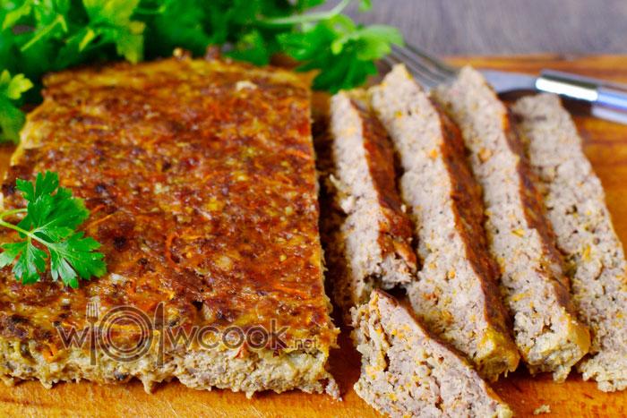 Как приготовить мясной хлеб из индейки в духовке пошагово с фото