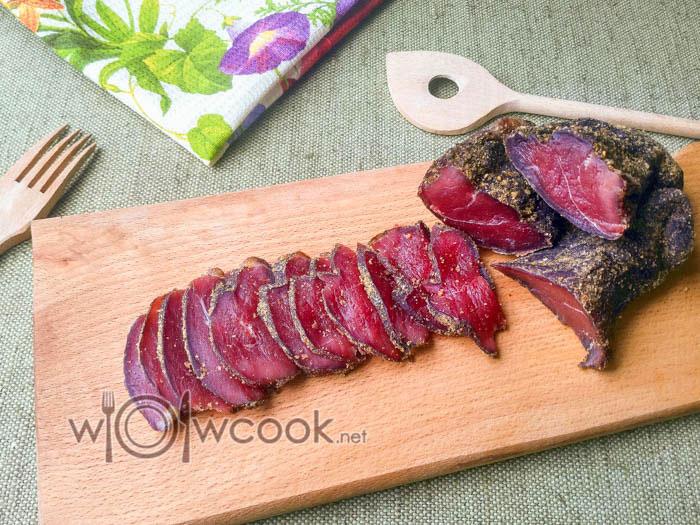 вкуснейшее вяленое мясо