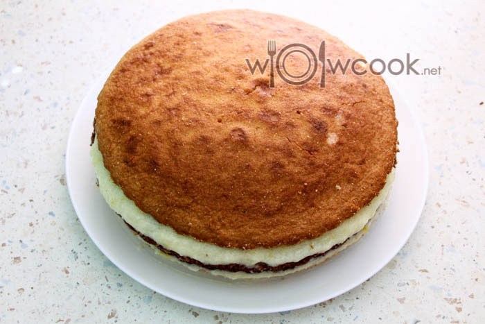 формируем торт