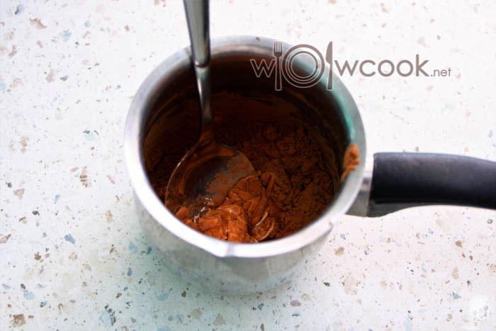 какао в кружке