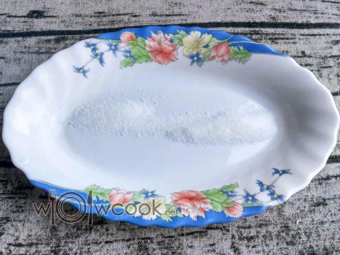 отмеряем соль