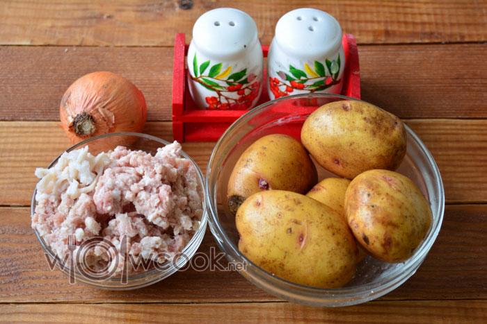 ингредиенты для картофельной колбасы