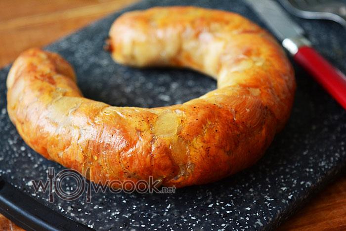 Рецепт куриной колбасы в духовке