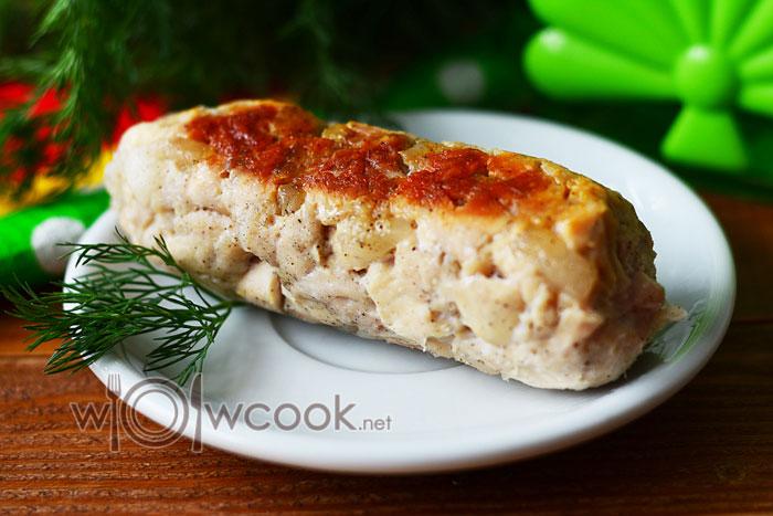 Самая вкусная домашняя колбаса в фольге в мультиварке