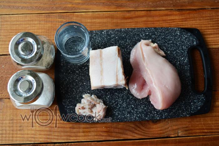 ингредиенты для колбасы