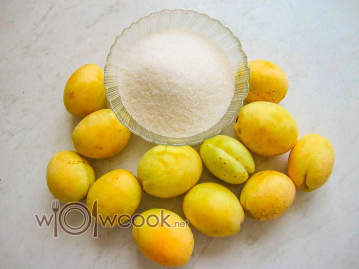 как сварить абрикосовое варенье, ингредиенты