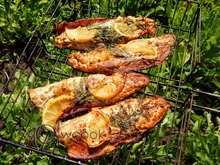скумбрия на гриле рецепт маринада
