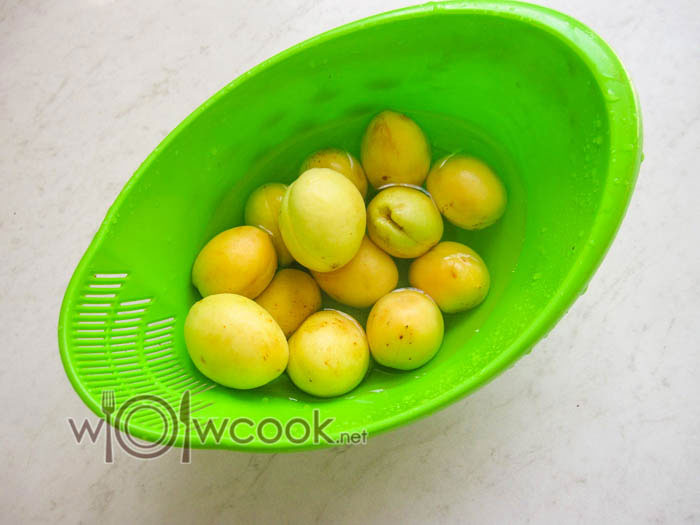 абрикосы с косточками