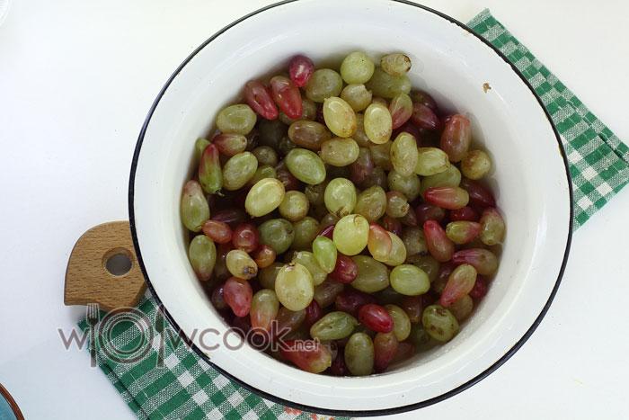 промываем винограад