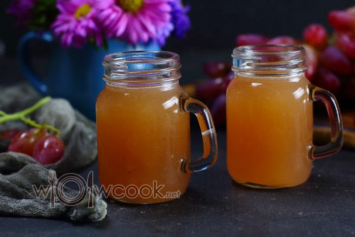 рецепт виноградного сока на зиму