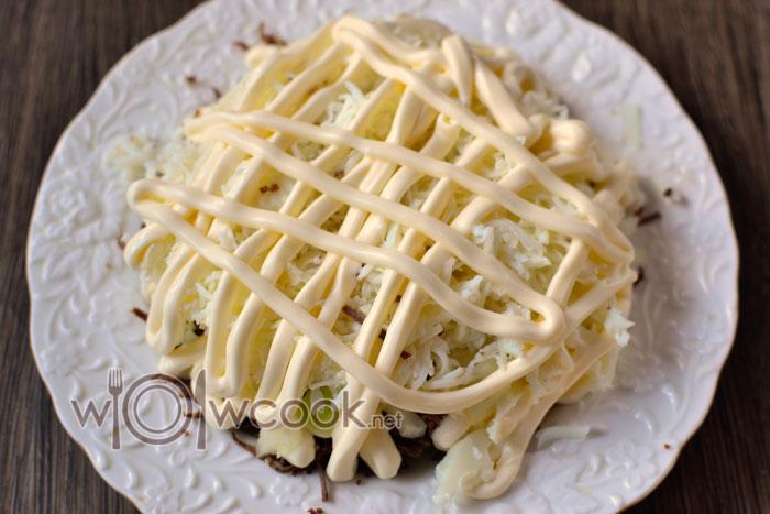 картофель слоем