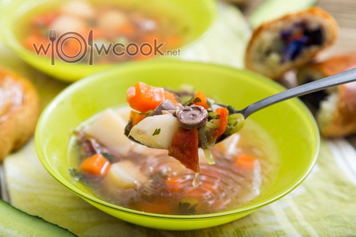 суп с субпродуктами