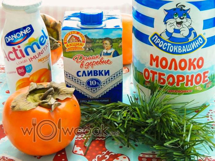 ингредиенты для йогурта