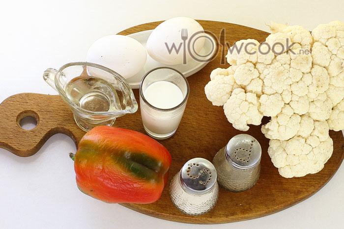 ингредиенты ддля омлета