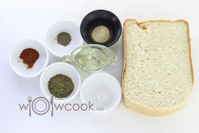ингредиенты для сухариков 1