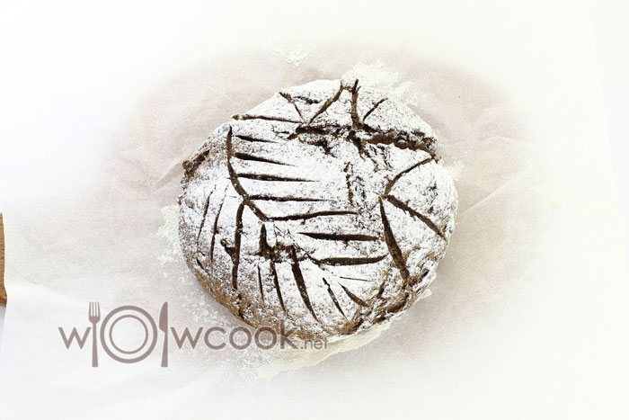 хлеб запекся