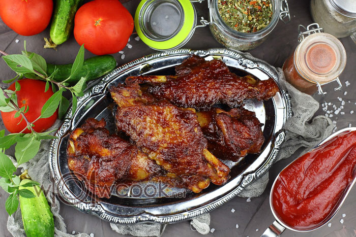 как приготовить крылья индейки в духовке