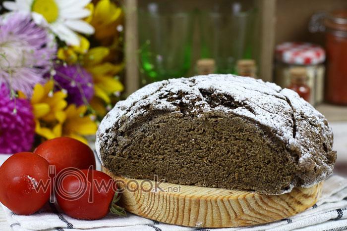 Рецепт домашнего ржаного хлеба