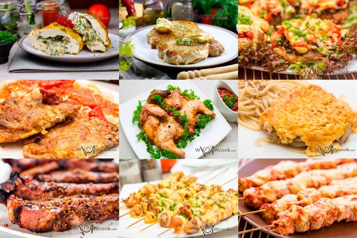 вторые блюда на новый год