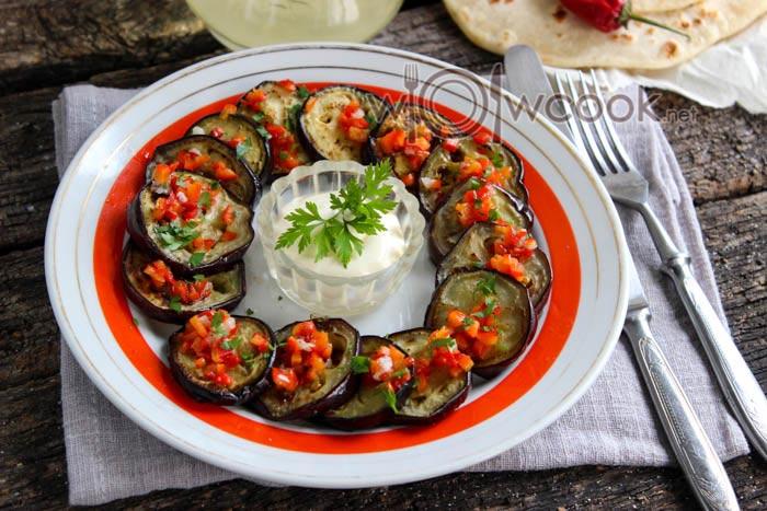 Баклажаны по-грузински, рецепт быстрого приготовления