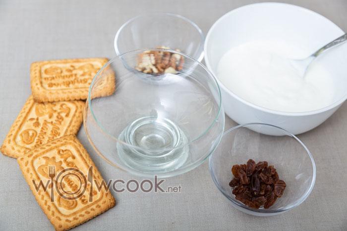 стакан и ингредиенты