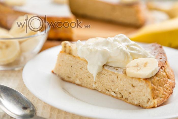 запеканка творожная рецепт в духовке с бананом