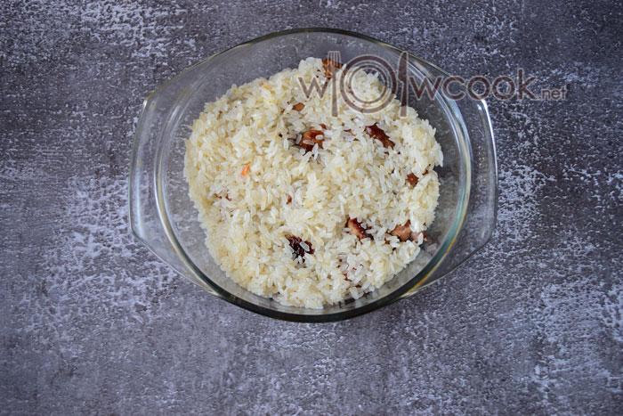 рис в форме