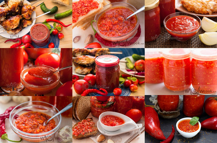 Соусы из помидор на зиму, лучшие рецепты