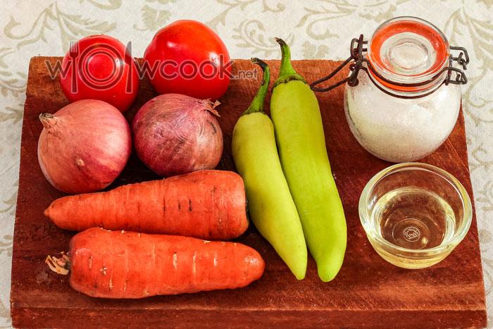 ингредиенты для суповой заправки