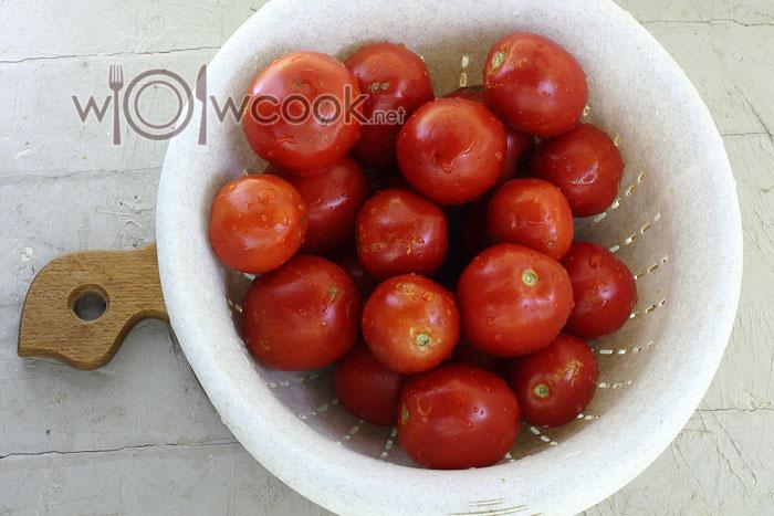 Промываем овощи