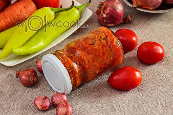 суповая заправки с помидорами на зиму