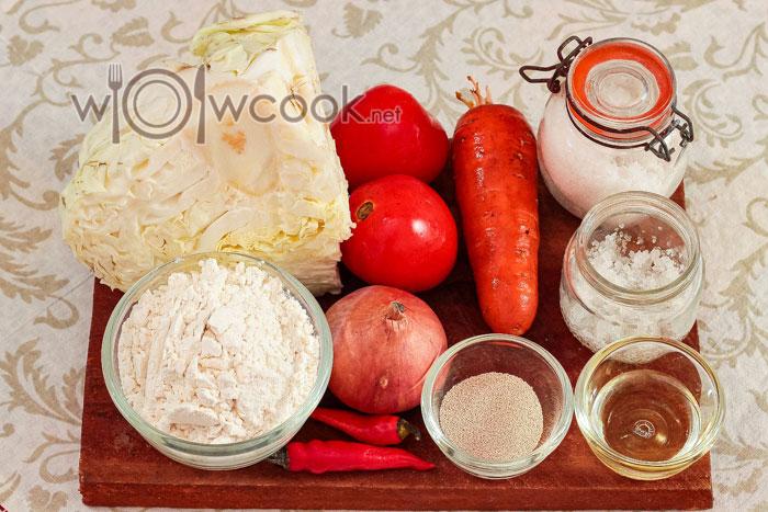ингредиенты для пирожков