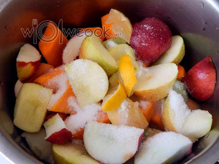 варим фрукты